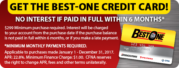 Get the Best-One Credit Card!