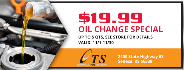 Oil Change Special $19.99
