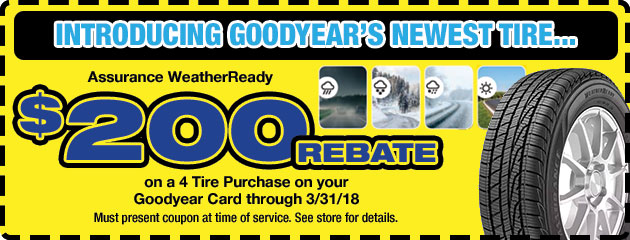 Goodyear Tire Rebate