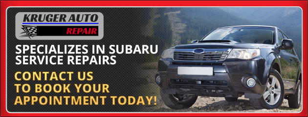 John Kruger Automotive Specializes in Subaru Service Repairs