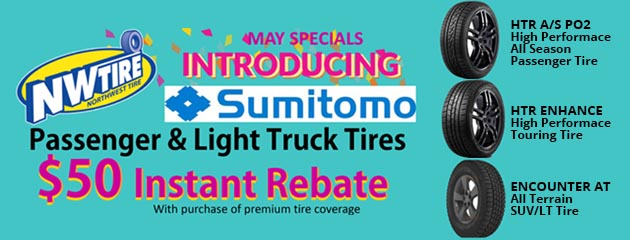 May Special $50 Instant Rebate