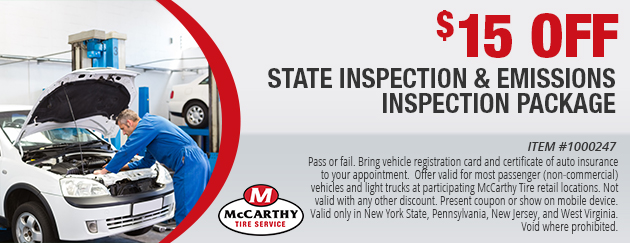State Inspection and Emissions Inspection Package