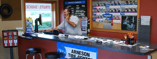 Arneson Tire Center Location