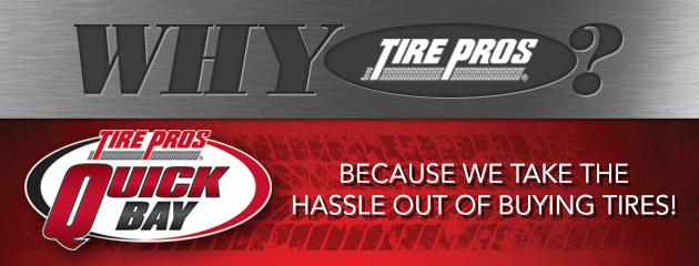 Why Tire Pros :: Quick Bay