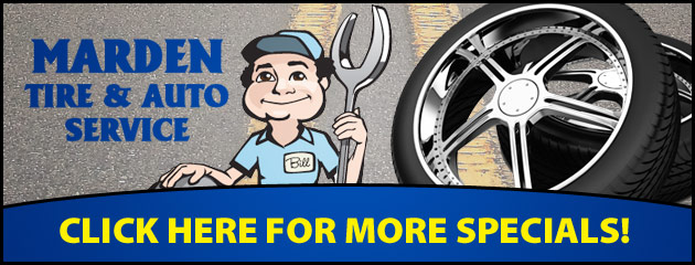 Marden Tire & Auto Service Savings