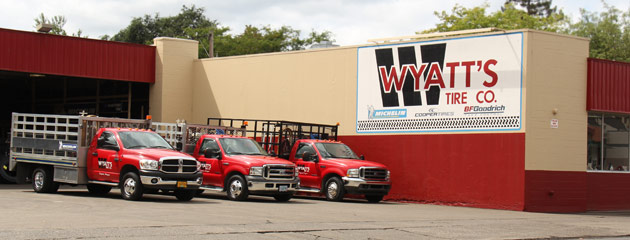 Wyatts Tire Co Location