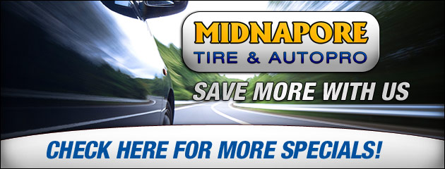 Midnapore Tire & Autopro Savings