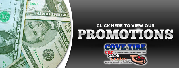 Cove Tire Savings