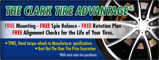 The Clark Tire Advantage