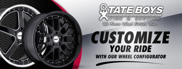 Customize your ride at Tate Boys
