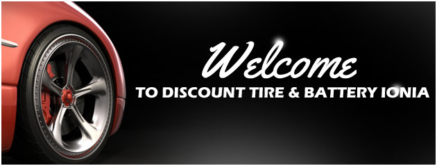 Welcome to Discount Tire & Battery in Ionia