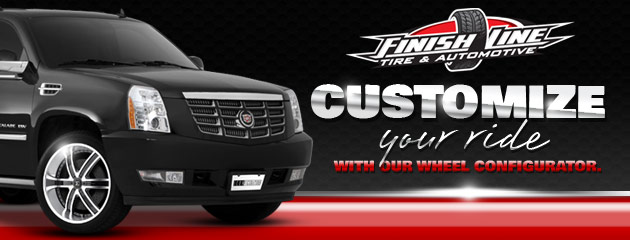 Customize Your Ride at Finish Line Tire