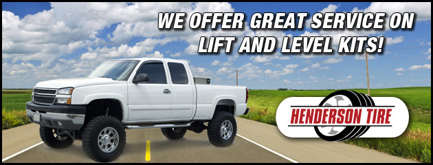 Henderson Tire Lift Kits