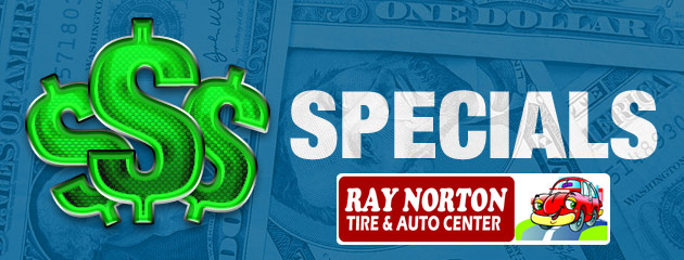 Ray Norton Tire & Auto Center Savings