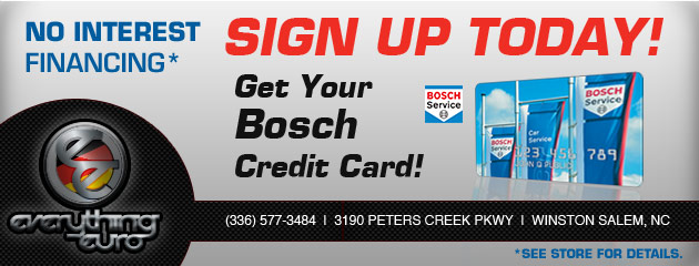 Bosch Credit Card