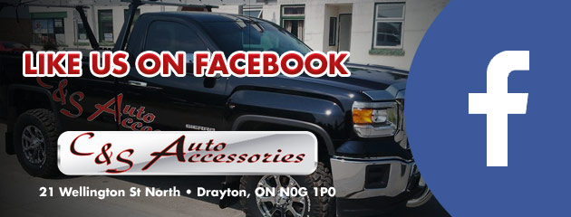 Like us on Facebook C&S Auto Accessories