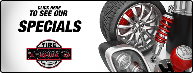 T-Boys Tire & Automotive Savings