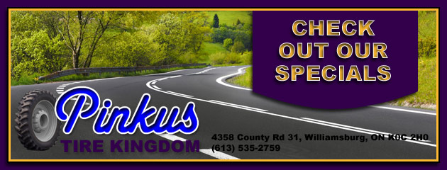 Pinkus Tire Kingdom Savings