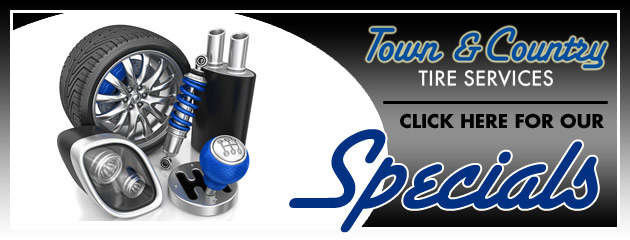 Town and Country Tire Service Savings