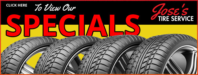 Joses Tire Service Savings