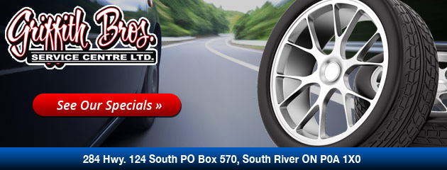 Griffith Brothers Tire Discounter Savings