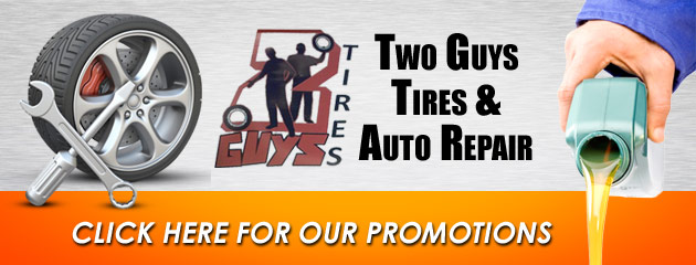Two Guys Tires and Auto Repair Savings