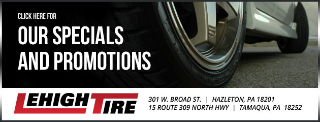 Lehigh Tire Savings
