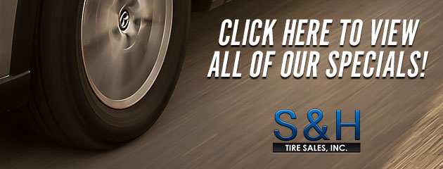 S&H Tire Sales Inc Savings