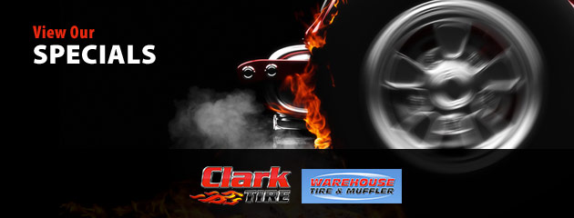 Clark Tire Company Savings