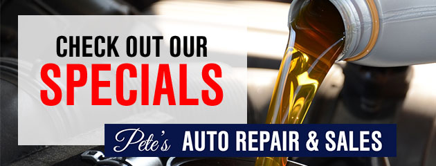 Petes Auto Repair & Sales Savings