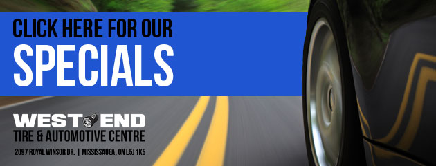 West End Tire & Automotive Centre Savings
