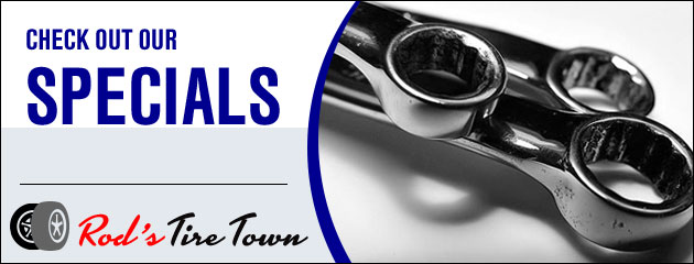 Rods Tire Town Savings