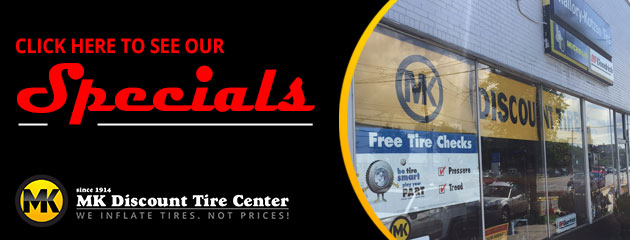 MK Discount Tire Center Savings