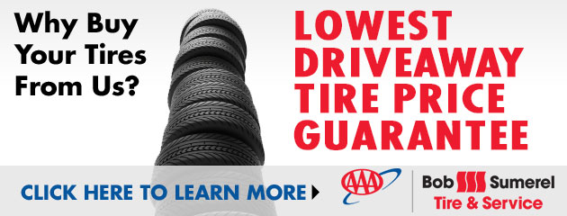 Lowest Driveaway Tire Price Guarantee