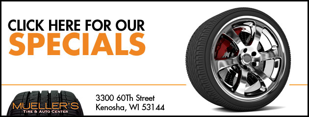 Muellers Tire & Auto Center Savings