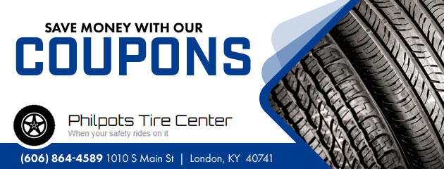 Philpot Tire Center Savings