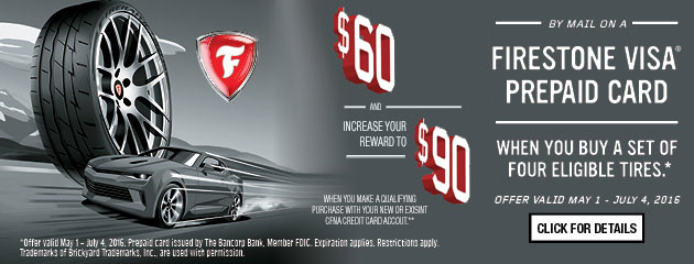 Firestone Summer Promotion