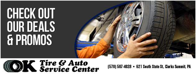 OK Tire & Auto Service Center Savings