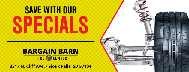 Bargain Barn Tire Center Savings