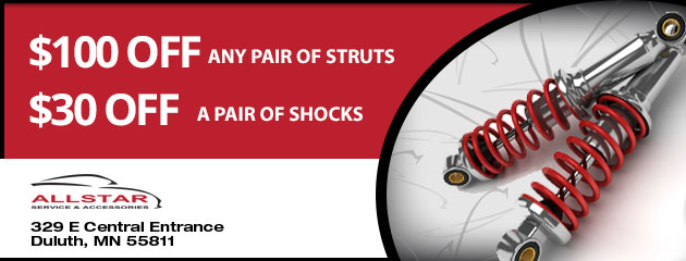 Shocks and Struts Special