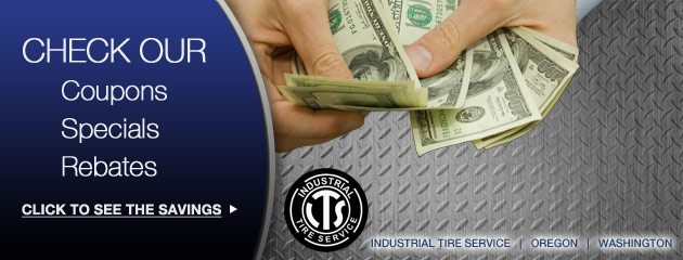 Industrial Tire Service Savings
