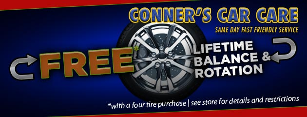 Tire Rotations Free With 4 Tires