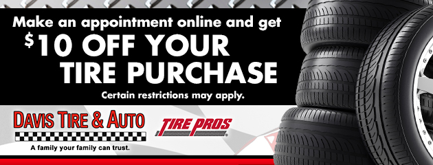 $10 off Tire Purchase