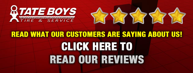 Tate Boys Tire and Service Testimonials
