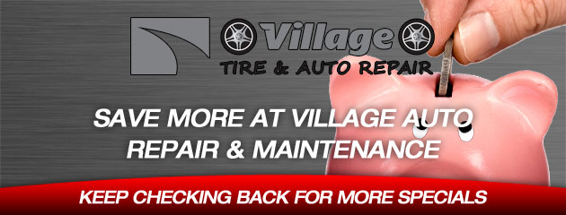 Village Auto_Coupons Specials