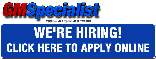 GM Specialist Jobs