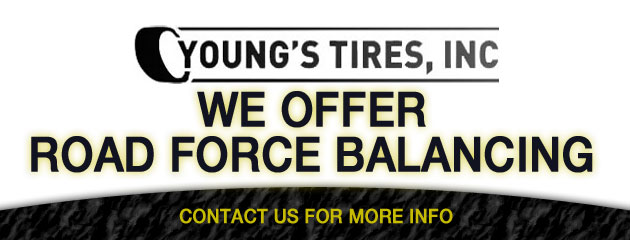 We offer road force balancing