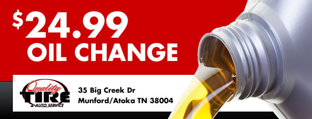 $24.99 Oil Change Coupon