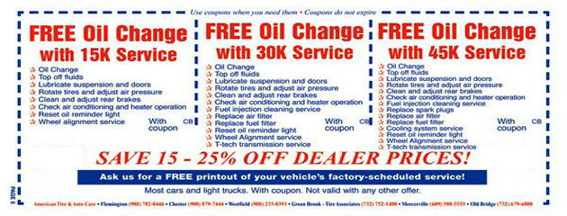 Oil Change Mileage