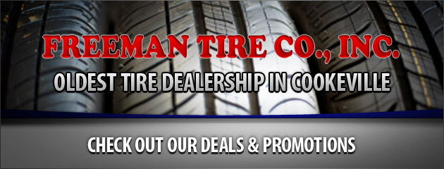 Freeman Tire Coupons
